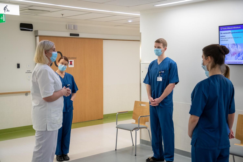 uhistehaigustega patsientide kontrollimine