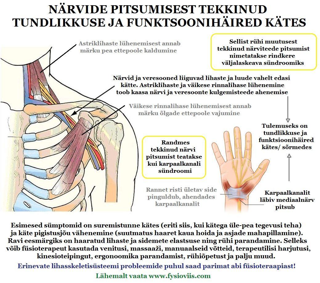 salv ja hoorudes liigeste haiguste hoorumine